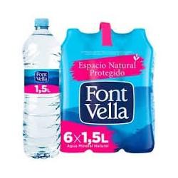 FONT VELLA PACK 6 UNIT 1,5 L