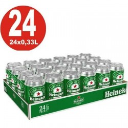 PACK 24 LLAUNES HEINEKEN 0,33L